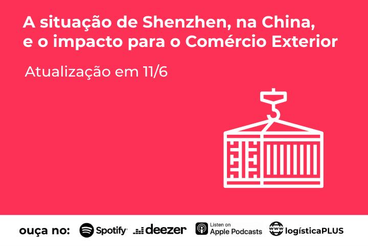 Situação de Shenzhen, na China, e o impacto para o comercio exterior