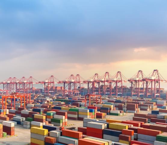 Situação comércio global na China e EUA