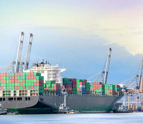 Situação dos principais portos